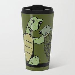 Turtle and The Bomb Travel Mug