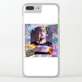 Brad Pitt Clear iPhone Case