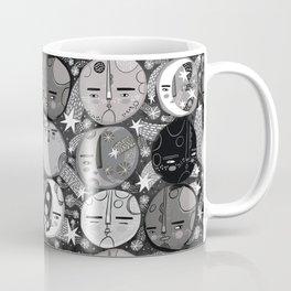 Moon Faces Coffee Mug