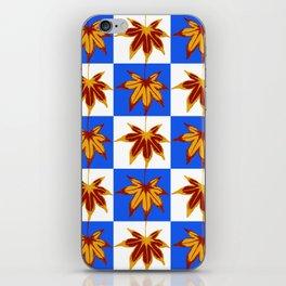 Patchwork Autumn iPhone Skin