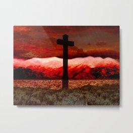 Sangre de Cristo Metal Print