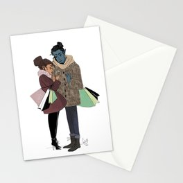 Ronnie and Elia Stationery Cards