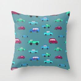 Cars II Throw Pillow