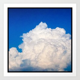Plano Cloud One Art Print