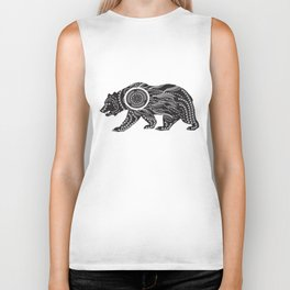 Dream Catcher Bear Biker Tank