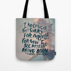 Being Born Tote Bag