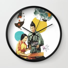 Rectrirond Wall Clock