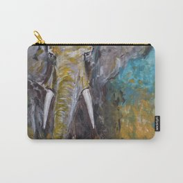 African Elephant Bull Carry-All Pouch