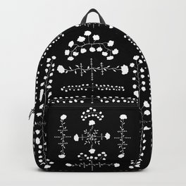 floral gothic Backpack