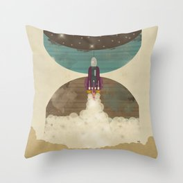 Go Beyond Throw Pillow