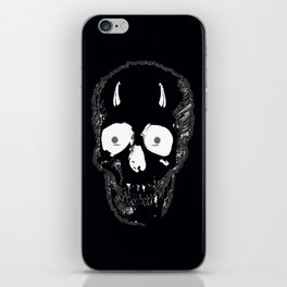 Devil Skull iPhone Skin