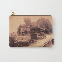 Old Railroad Relic II Carry-All Pouch