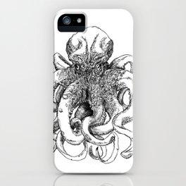Octopus IV iPhone Case