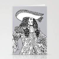 spanish Stationery Cards featuring Spanish Explorer by Tom Tierney Studios
