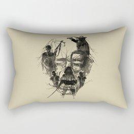 Dead Walker Rectangular Pillow