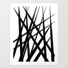 In the long grass (version 4) Art Print