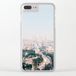 Pink LA Clear iPhone Case