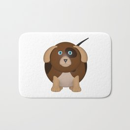 Beagle Dog Bath Mat