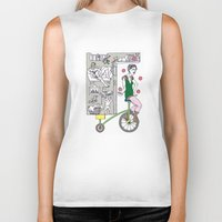 circus Biker Tanks featuring Circus by Madmi