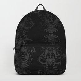 Carnivorous Damask (Noir) Backpack