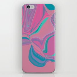 Candy marble chewing gum fantasy iPhone Skin