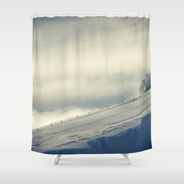 Above the Clouds - Mt. Hood Shower Curtain