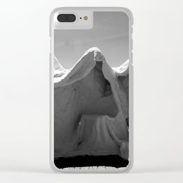 In Threes Clear iPhone Case