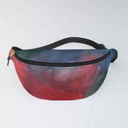 Watercolor turbulence Fanny Pack