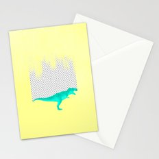 dino got the blues, or not! Stationery Cards