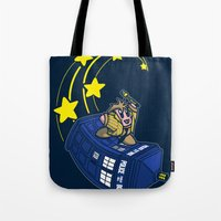 kirby Tote Bags featuring Dr. Kirby by Macaluso