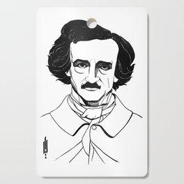 Edgar Allan Poe by Aubrey Beardsley 1926 Cutting Board