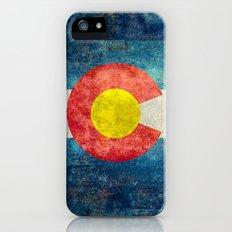 Coloradan State Flag Slim Case iPhone (5, 5s)