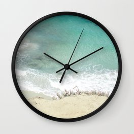 Ocean colors Wall Clock