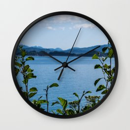 Plant View Wall Clock