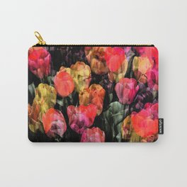 Tulip Garden Carry-All Pouch