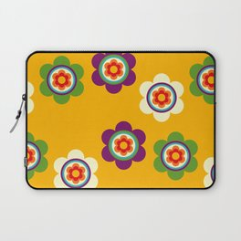 Mexican Colorful Flowers Laptop Sleeve
