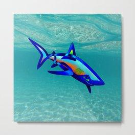 Pool Shark Knot Metal Print