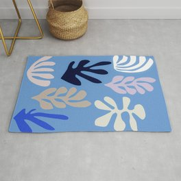 Seagrass 2 - oceanic Rug
