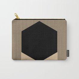 Black Hex Carry-All Pouch
