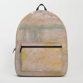 "Claude Monet ""Charing Cross Bridge"" (II) Backpack"