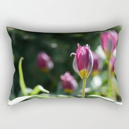 Sprouting Beauty Rectangular Pillow