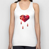 vector Tank Tops featuring Heart vector by Tony Vazquez
