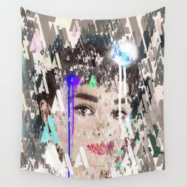 Audrey Type Abstract Art Wall Tapestry