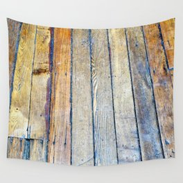 Floorboards Wall Tapestry