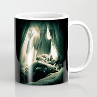 horror Mugs featuring Horror by Joe Roberts