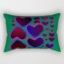 Heart in the countryside Rectangular Pillow