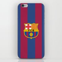 barcelona iPhone & iPod Skins featuring Barcelona by Kesen