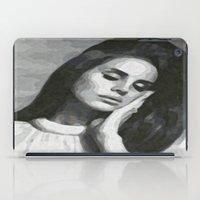 cocaine iPad Cases featuring cocaine heart by Grace Teaney Art