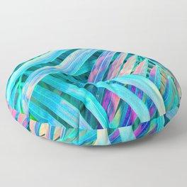 Rainbow Palms Floor Pillow
