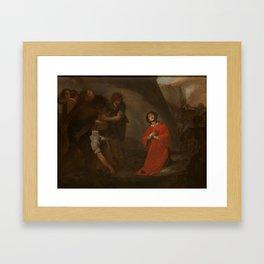 CAVALLINO, BERNARDO Napoles, 1616 - Napoles, 1656 The Martyrdom of Saint Stephen Ca. 1645 Framed Art Print